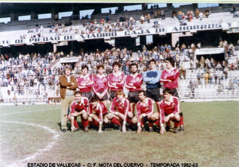 Temporada 1982-83. Estadio de Vallecas.